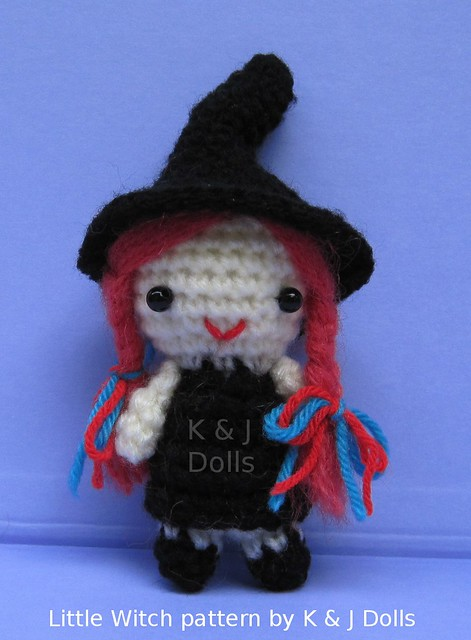 Free Amigurumi Patterns Halloween : Little Witch free Halloween Amigurumi crochet pattern ...