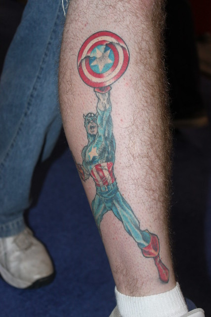 Captain America Tattoo