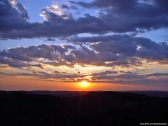 Triunfo - PE - Pico do Papagaio, Pôr do Sol