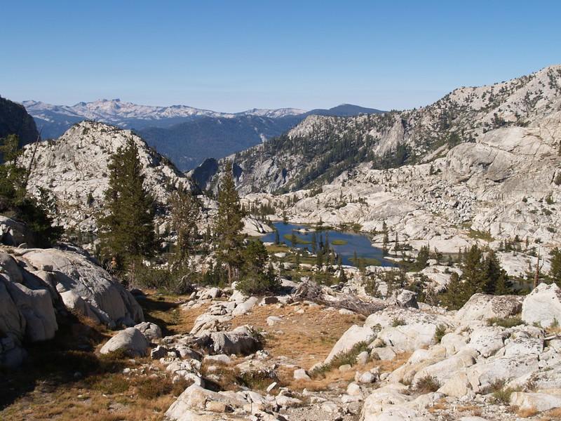 A final view of Granite Basin.