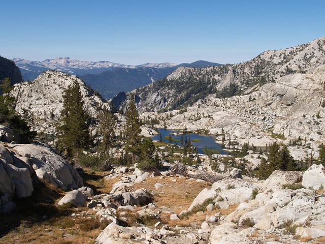 A final view of Granite Basin.