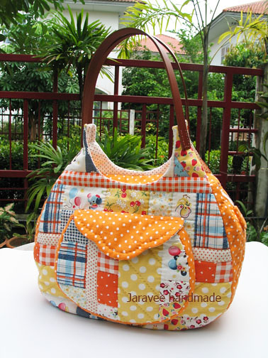 PATTERN Rag Diaper Bag Purse Quilt by avisiontoremember on Etsy