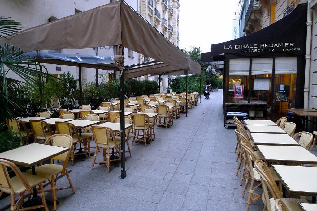 Restaurant La Cigale Récamier