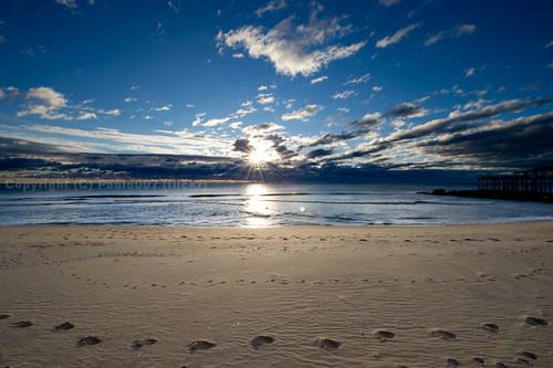 ocean county blue sky beach clouds sunrise newjersey nikon surf waves wind grove nj shore jersey monmouth oceangrove nothdr d3s 1424f28 paulo007