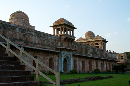 Jahaz-Mahal at Mandu Fort