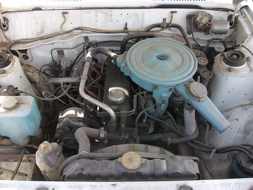1981 Datsun 210 Engine
