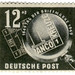 Germany postage stamp: banco kreuze
