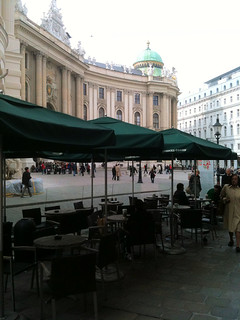 Starbucks at the Hofburg in Vienna Austria