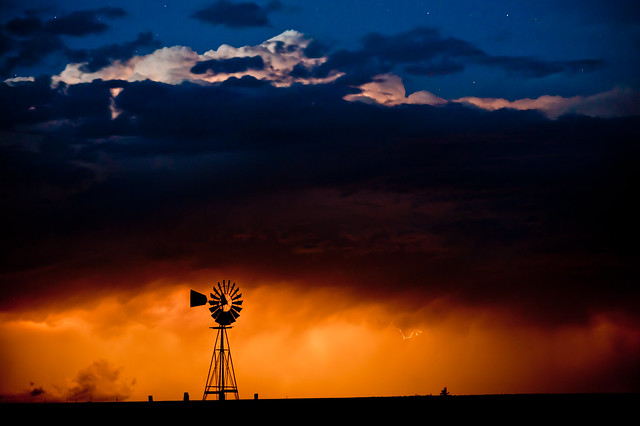 A Night and A Storm Colorado~Storm~Landscape~Photography