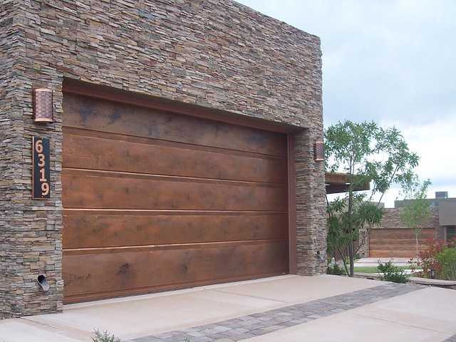 Garage Doors Flushline Copper Copper Garagedoors By