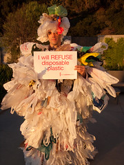Andy Keller, the Plastic Bag Monster, at TEDxGreatPacificGarbagePatch
