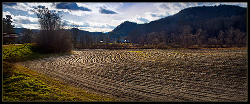 november autumn landscape vermont fields bethelvt