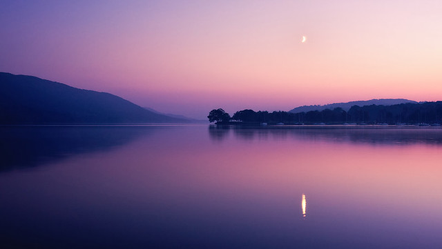 coniston twilight