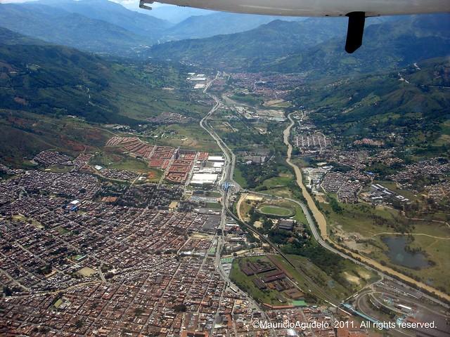 foto aereas de colombia: