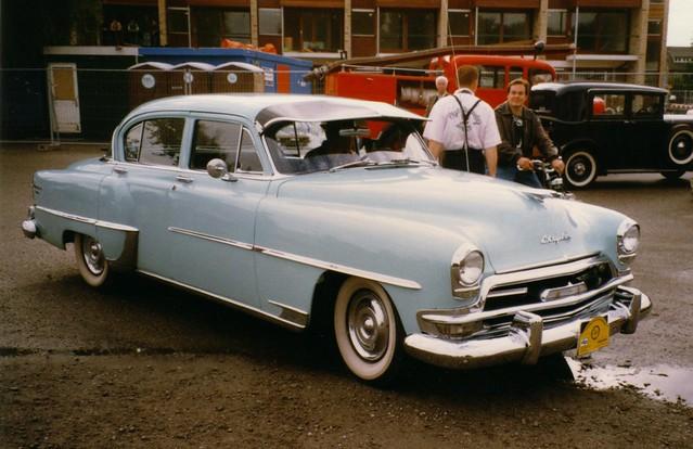 1954 Chrysler Windsor Deluxe Sedan V6 Flickr Photo