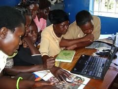 Women at ICT workshop in Namaingo, eastern Uganda. Credit: Susan Kinzi/IPS