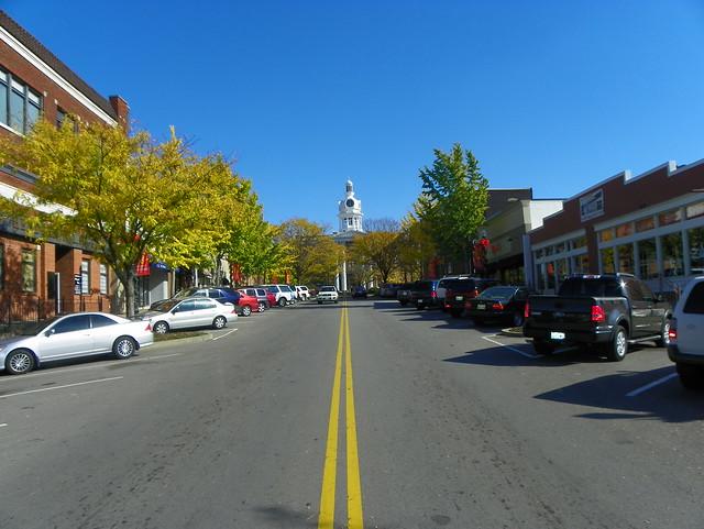 Looking Up Main Street Flickr Photo Sharing
