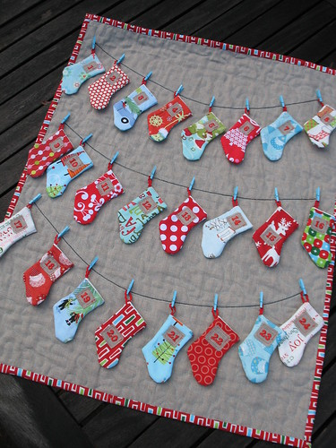 Handmade Calendar Design : Boutique nutmeg designs handmade holidays advent calendar