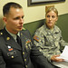 Sgt. David W. Rider, answers questions posed by his wife and sponsor by My Army Reserve