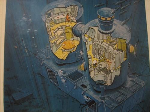 Artist's Rendering, Tektite Underwater Habitat