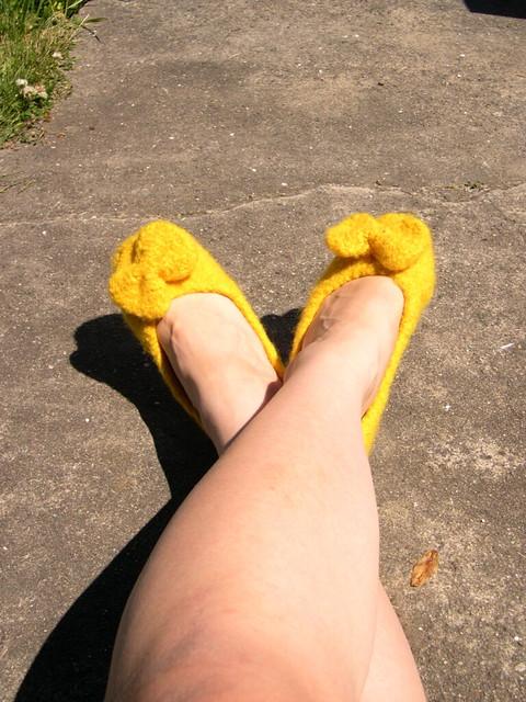 golden slippers flickr photo sharing. Black Bedroom Furniture Sets. Home Design Ideas