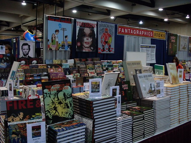 Fantagraphics Booth
