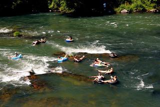 Eugene Oregon Willamette River Summer