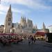 Catedral de Burgos y plaza de Santa María