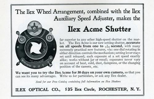 Ilex Acme Shutter