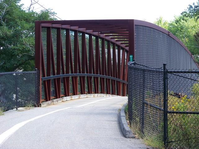 Pedestrain Bridge - Cooks Corner. Brunswick, Maine