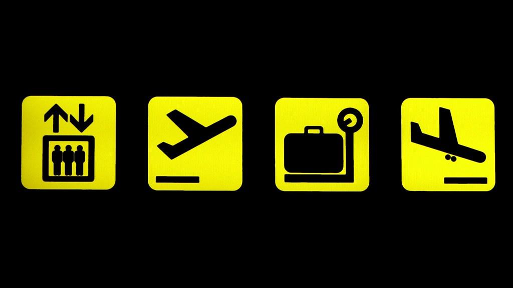 Aeropuerto - señales