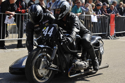 BMW Boxer sidecar racer :: ru-moto classic motorcycles © Egger 5706
