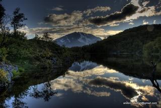 Mountain Water Reflections Skjervøy