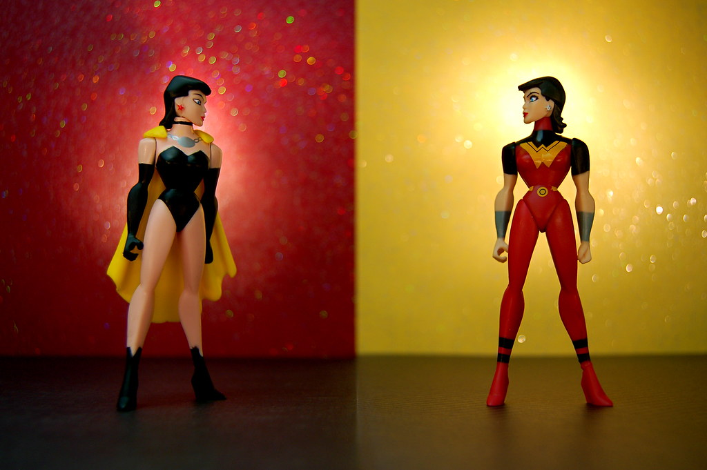 Crime Syndicate Superwoman vs. Justice Lords Wonder Woman (251/365)