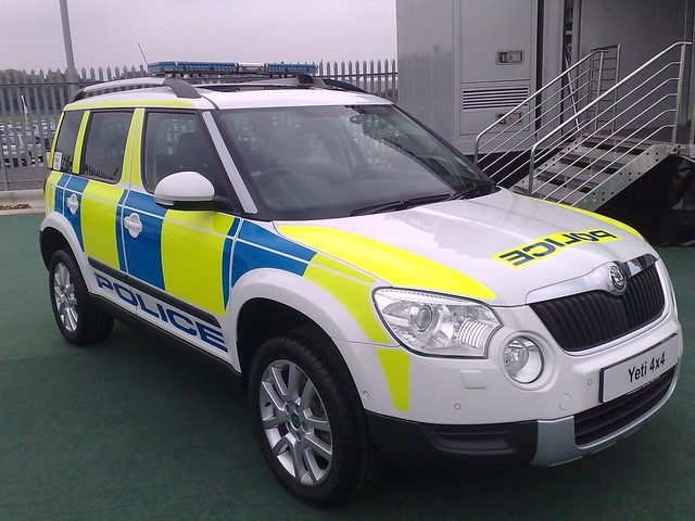 skoda yeti 4x4 police car flickr photo sharing. Black Bedroom Furniture Sets. Home Design Ideas