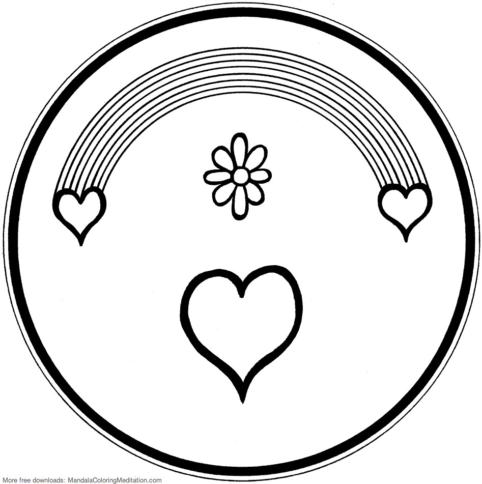 Mandala Coloring Pages S Most Recent Flickr Photos Picssr Coloring Pages Rainbow