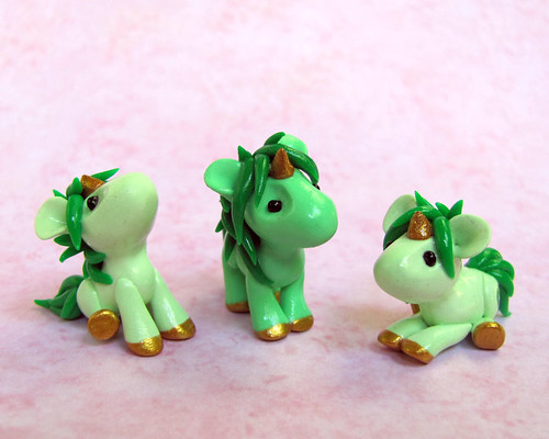 Green Baby Unicorns