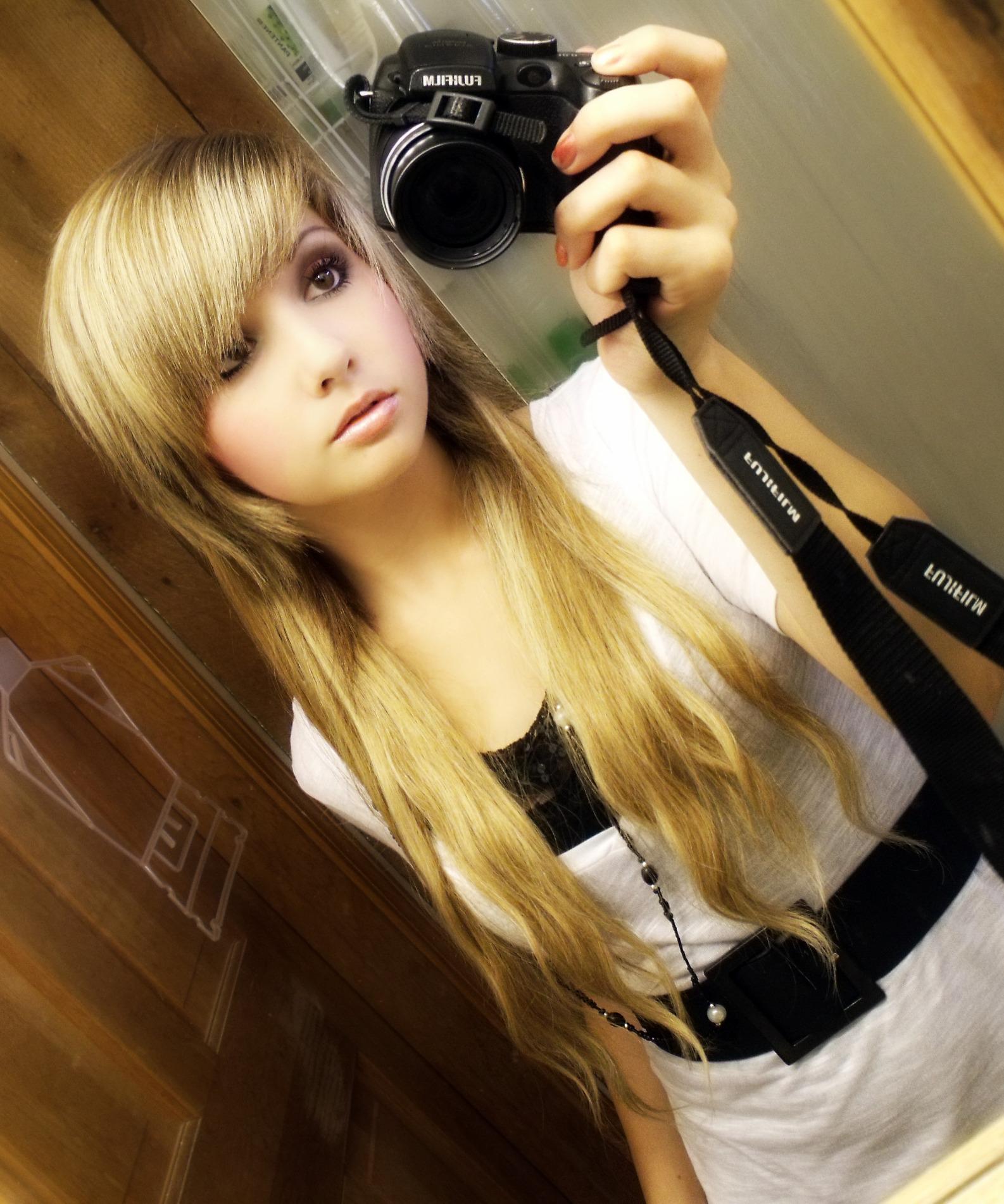 Эмо девушка блондинка 6 фотография