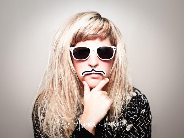 Blonde Glasses Facial Pov