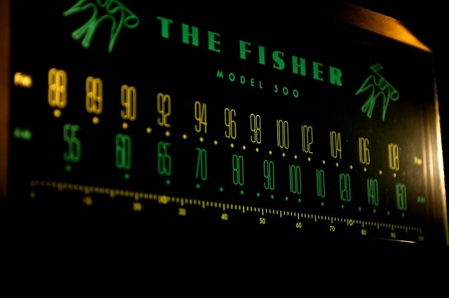 The Fisher Model 500 http://www.flickr.com/photos/nalston/4980156467/