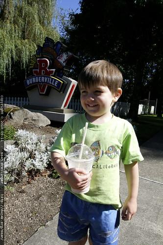 first milkshake