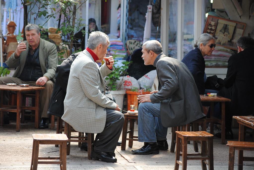 bursa - discussions and black tea
