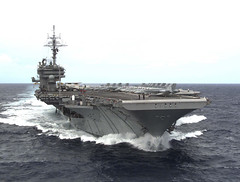 aircraft carrier, naval ship, vehicle, ship, amphibious assault ship, supercarrier, dock landing ship, light aircraft carrier, watercraft,