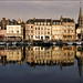 Evening reflections in Honfleur