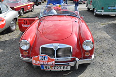 automobile, vehicle, performance car, automotive design, mg mga, antique car, classic car, vintage car, land vehicle, luxury vehicle, sports car, motor vehicle, classic,