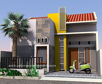 desain rumah mungil modern warna warni flickr photo