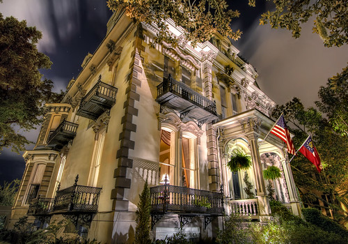 georgia historic savannah hdr midnightinthegardenofgoodandevil photomatix hamiltonturnerinn highdynamicrangephotography hdraddicted canon7d 11exposures topazadjust theaterwiz theaterwizphotography michaelcriswell