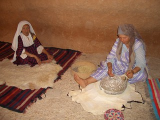 Berber woman and doughter