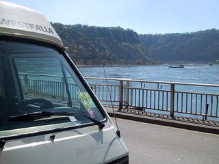 The Westy at the Loreley, Rhine