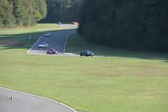 Circuit van Folembray, een hele hoop wagens op circuit en de kunstmatig gemaakte chicane